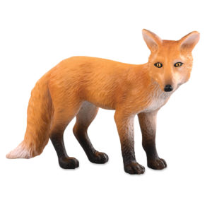 side view of fox