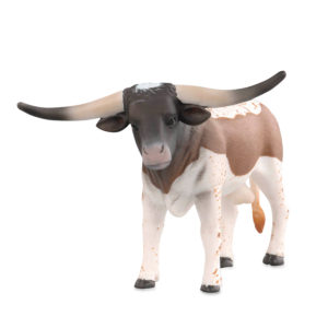 front view of Longhorn bull