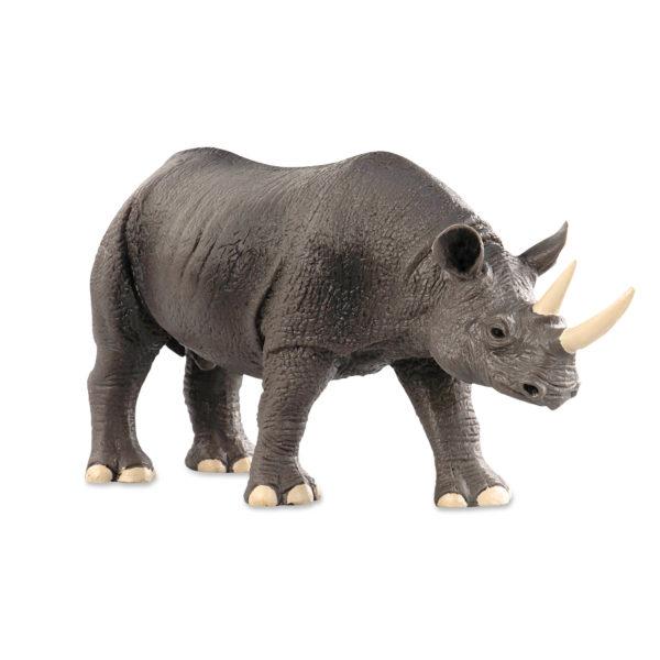 side view of rhino