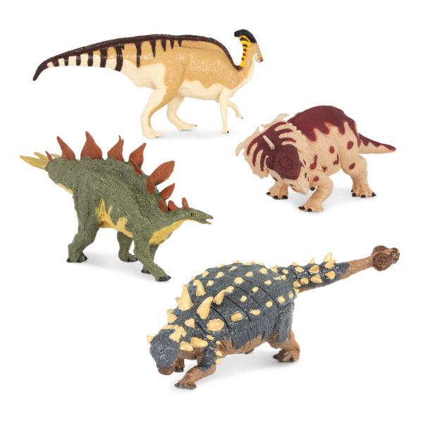 four dinosaurs